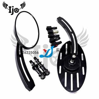 free shipping motorbike mirrors moto ATV Off-road dirt pit bike black motorbike rearview mirror unviersal motorcycle accessories