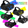 Последним все в одном google картон сенсорный VR СЛУЧАЕ RK-A1 виртуальная Реальность Беспроводная Связь Bluetooth VR Напорный ящик Крепление Геймпад 3D очки