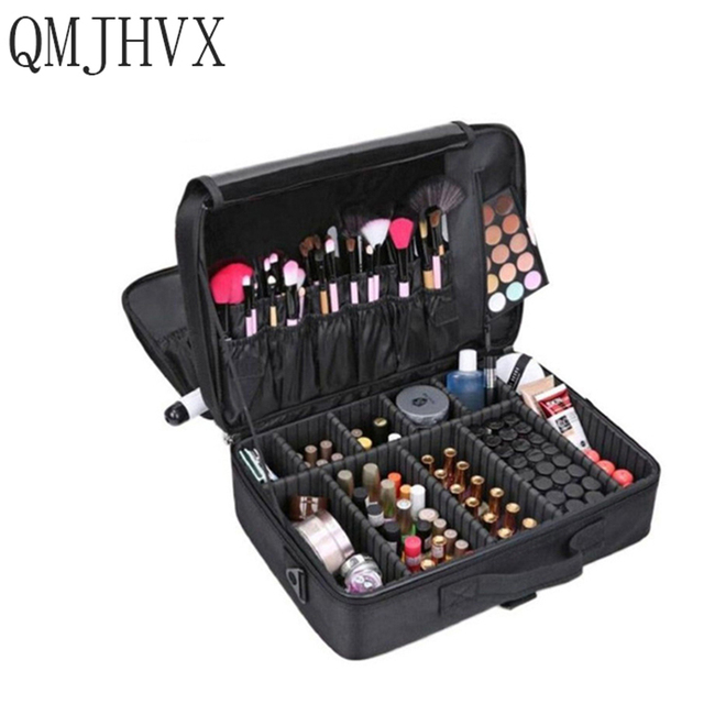 2019 Makeup Artist Travel Accessories Professional Beauty Cosmetic Case for woman Cosmetic Bag Tattoo Nails suitcase organizer