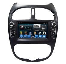 Navirider dvd плеер автомобиля для peugeot 206 octa core android 8.1.0 Автомобильный gps мультимедиа головное устройство стерео магнитофон