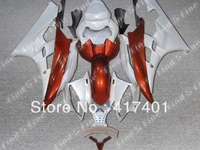 white red for YAMAHA YZFR6 06-07 YZF R6 2006-2007 06 07 YZF-R6 2006 2007 ABS motorcycle fairing kit