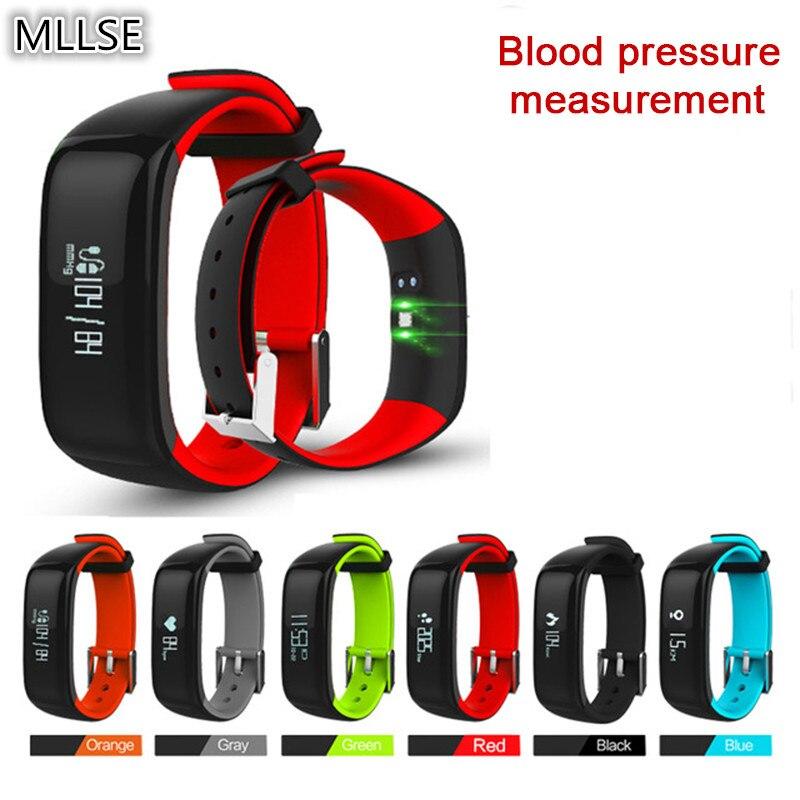 P1 смарт браслет артериального давления монитор