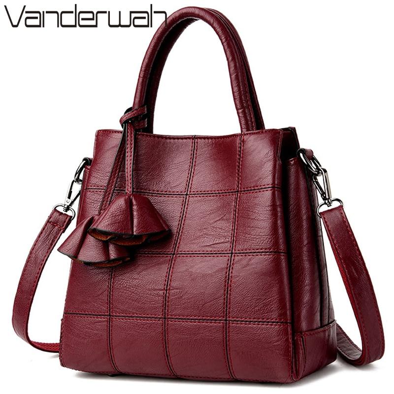 VANDERWAH Luxury Handbags Women Bags Designer Leather ...