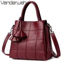 b6e088d2a2954 Sac ein haupt Leder Luxus Handtaschen Frauen Taschen Designer handtaschen  Hohe Qualität Frauen Schulter Tasche Weibliche