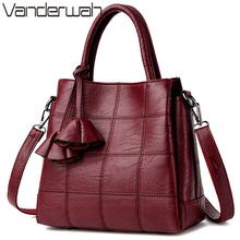 Sac a main Leather Luxury Handbags Women Bags Designer handbags High Quality Women Shoulder Bag Female crossbody messenger bag