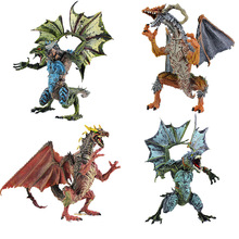 2018 Western Flying Dragon Magic Dragons Wings Classic Boys and Girls Toys Gifts Plastic Dinosaur Children Model Toy