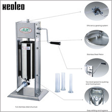 XEOLEO Manual Sausage filling machine 3/5/7L filler Stainless steel Vertical stuffer Food