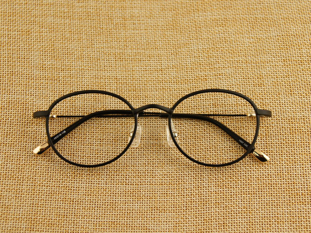 388b9fd261 Ultem Round Women Myopia Glasses Tungsten Titanium Ultra Light Men Eyeglasses  Frame High Quality Vintage Eyewear