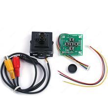 """Câmera zangão 1/3 """"Sony CCD 700TVL Alta Resolução 3.6mm Lente HD Câmera de Vídeo com a função OSD FPV"""