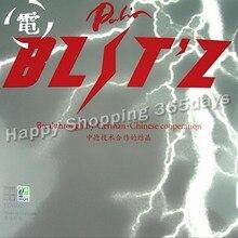 Original Palio BLITZ pips en tenis de mesa y goma de Pingpong con esponja