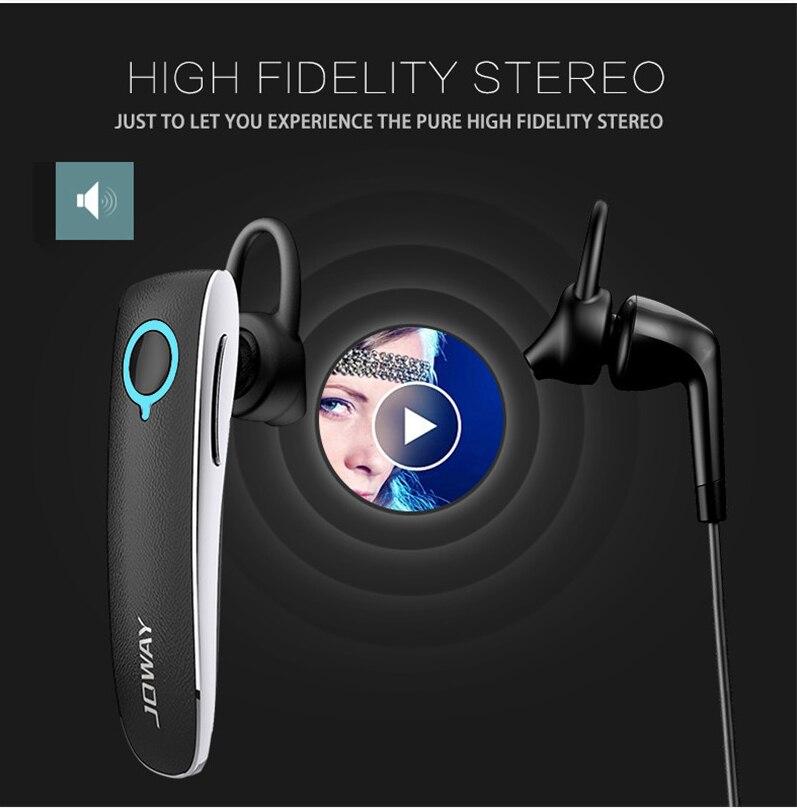 JOWAY H05 Estilo de negocios Auriculares inalámbricos de cuero - Audio y video portátil - foto 6