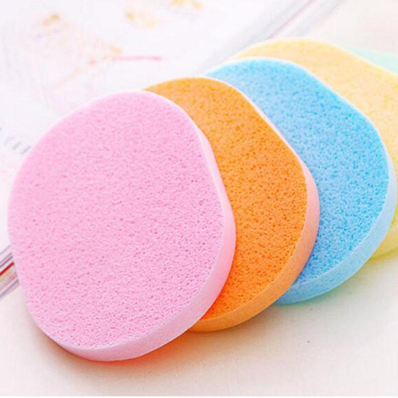 Facial Cleansing Sponge Puff Available Soft Makeup Seaweed Sponge Magic Face Cleaning Wash Pad Puff Makeup cleansing Tools D3 цена