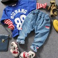 only jeans 1pc 2-8Y new 2017 spring boys denim pant kids jeans boys jeans children trousers boys denim casual pant