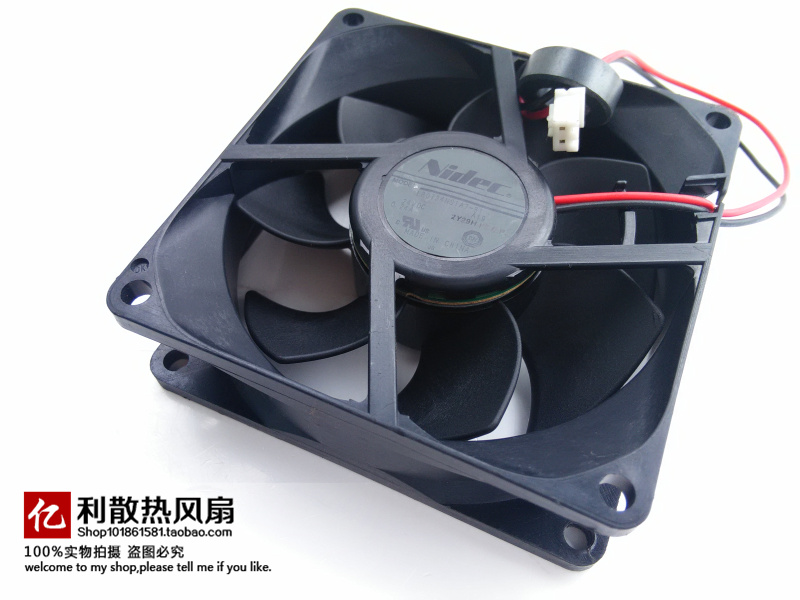 New original NIDEC L80T24NS1A7-51 24V 0.24A 8CM 8025 80 * 80 * 25MM 2 wire cooling fan sanyo new fv28025hba 8025 220v 0 15a ac condenser fan with fan for wonsan 80 80 25mm