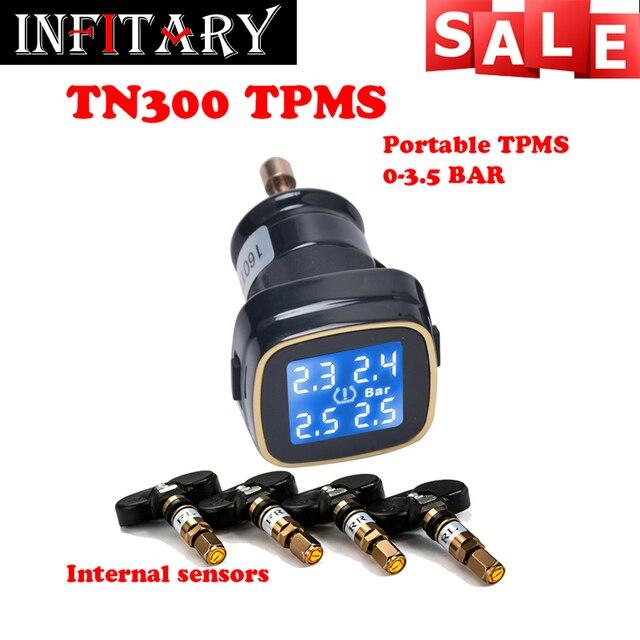 TN300 мониторинга Беспроводной давления в шинах tpms системы мониторинга 4 внутренние датчики Для renault peugeot toyota и все машины свободный корабль