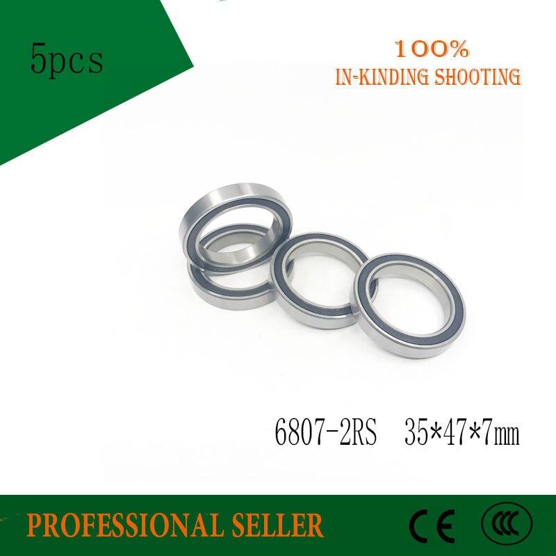 6807-2RS Bearing Deep Groove 6807-2RS Ball Bearings