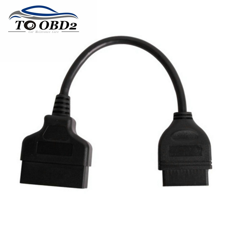 FREE SHIPPING For Toyota 22Pin Male To OBD2 16Pin Female OBD Connecting Cable Diagnostic Adapter For Toyota 22 Pin