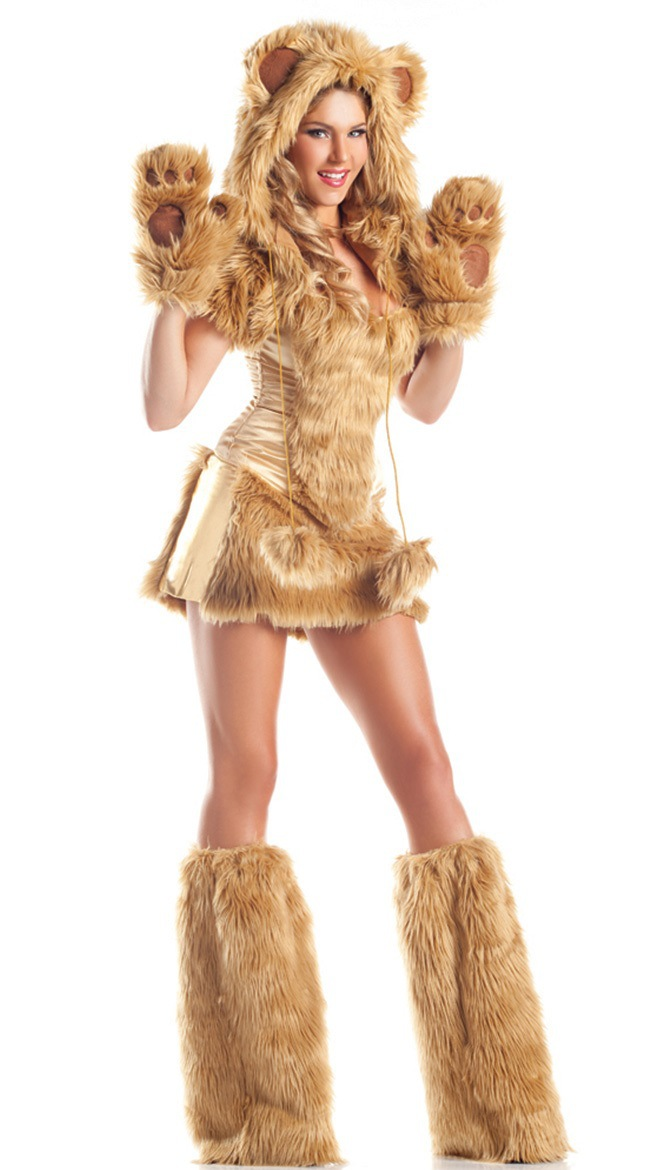 Sexy lioness costume