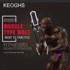 Сила руки Расширитель грудной клетки / 60 кг / домашнее фитнес-оборудование Рукоятка с регулируемой  ①