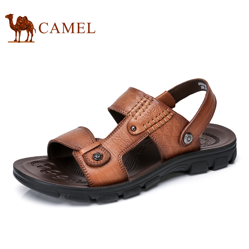 Camel Mens Shoes 2018 Summer New Dailyu Casual Sandals Fresh Breathable Anti-skids Exposed Toe Mens Sandals A722211402