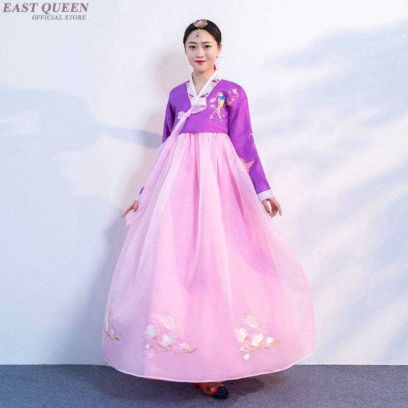 Us 47 3 45 Off Korean Hanbok Wedding Dress Cosplay Performance Korean Traditional Dress Style Clothing Korean National Costume Hanbok Aa3999 In Asia
