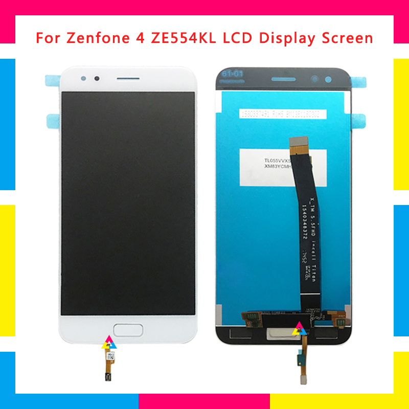 LCD Screen Display Con Touch Screen Digitizer Assembly Per ASUS Zenfone 4 ZE554KL di RicambioLCD Screen Display Con Touch Screen Digitizer Assembly Per ASUS Zenfone 4 ZE554KL di Ricambio