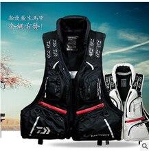 New Detachable Breathable Life jacket life vest fishing vest fishing clothing fishing tackle DF-3104 flotation vest sizeM