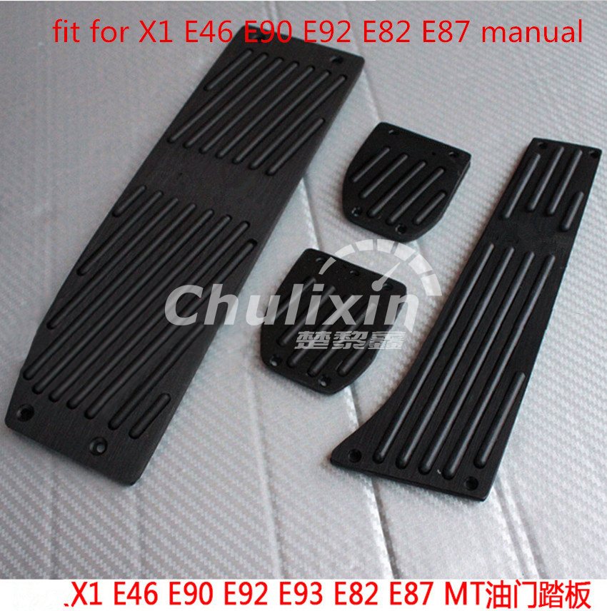 Free shipping High quality Aluminium Alloy Rest Gas pedal Brake Pedal for BMW X1 M3 E39 E46 E87 E84 E82 E90 E91 E92 plusobd car recorder rearview mirror camera hd dvr for bmw x1 e90 e91 e87 e84 car black box 1080p with g sensor loop recording