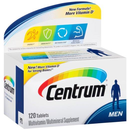 ФОТО Centrum Ultra Men Multivitamin/Multimineral Supplement (120-Count Tablets)