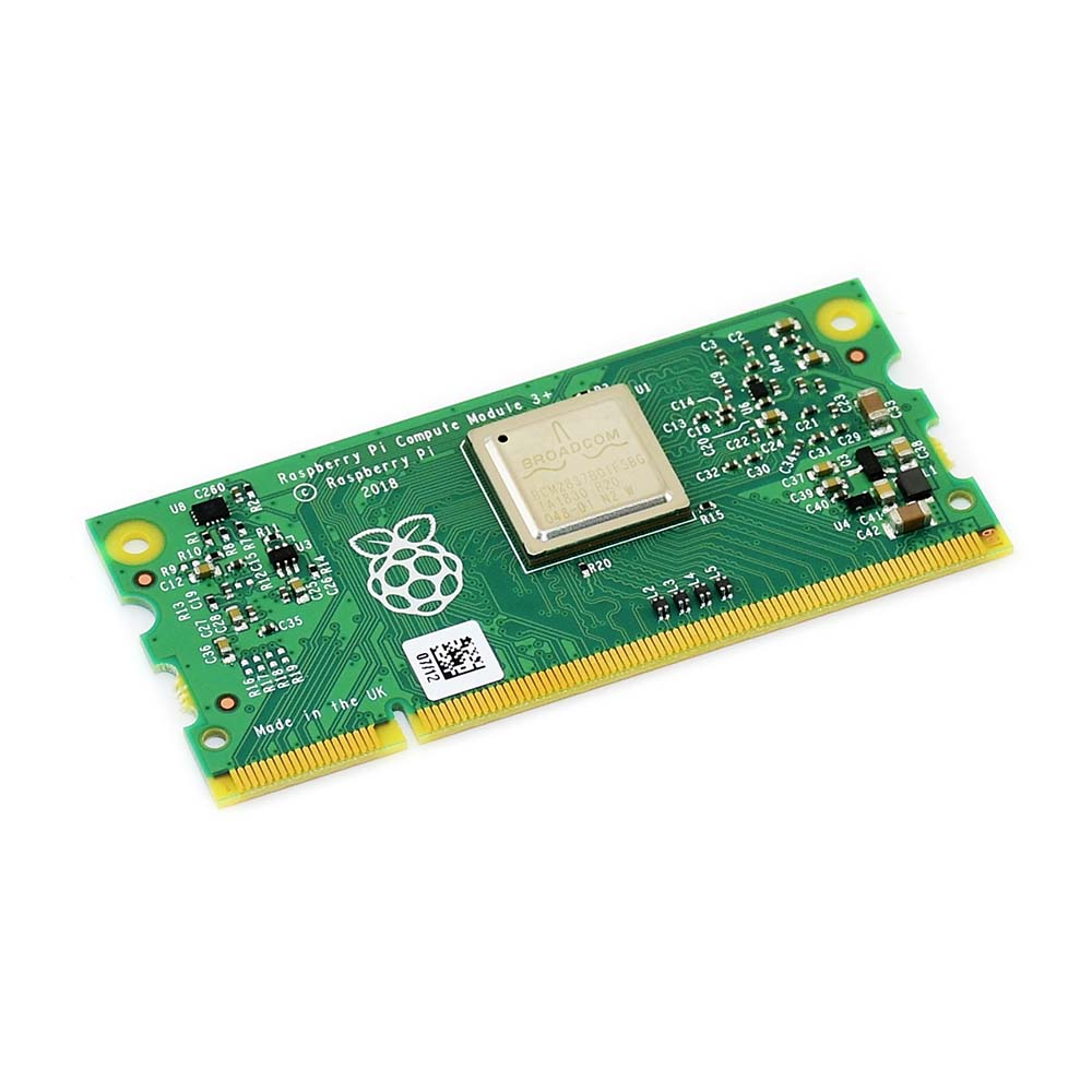 Compute Module 3+/32GB (CM3+/32GB), Raspberry Pi 3 Model B+ In A Flexible Form Factor, With 32GB EMMC Flash