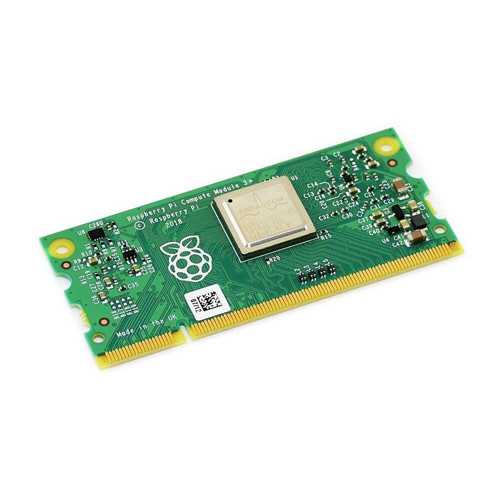 Module de calcul 3 +/32 GB (CM3 +/32 GB), Raspberry Pi 3 modèle B + dans un facteur de forme flexible, avec Flash eMMC 32 GB
