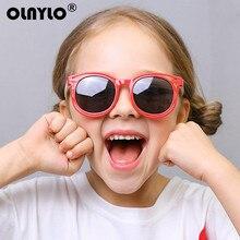 Новые модные детские очки для девочек, Брендовые очки для детей, очки для мальчиков, UV400 линзы, детские солнцезащитные очки, милые очки, очки