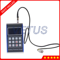 JCT180 Digital Paint Coating Thickness Gauge Magnetic Induction F Probe Full metal shell design Thickness Measuring Instrument