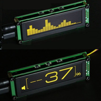 OLED display Audio Music spectrum Stereo Level volume Indicator VU Meter Screen for car mp3 Amplifier