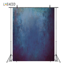 Laeacco Old Gradient Solid Color Wall Grunge Portrait Photography Backgrounds Customized Photographic Backdrops For Photo Studio
