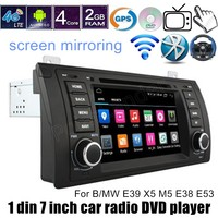 Quad Core Car DVD Android 6 0 GPS Wifi 4G Bluetooth Radio RDS For B MW