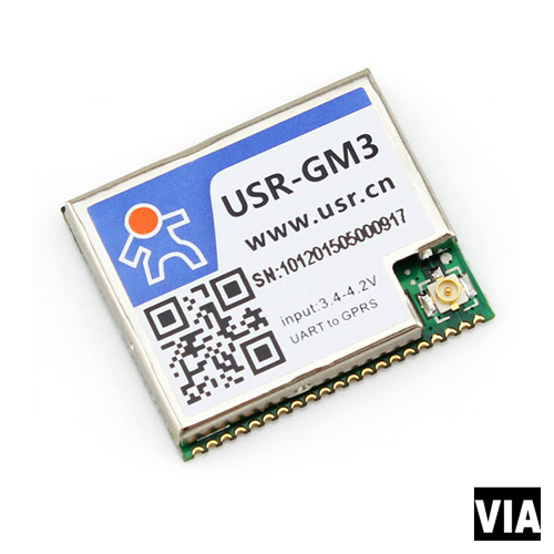USR-GM3 Free Shipping USR Module, Evaluation Board, UART Transfer GPRS Development Board