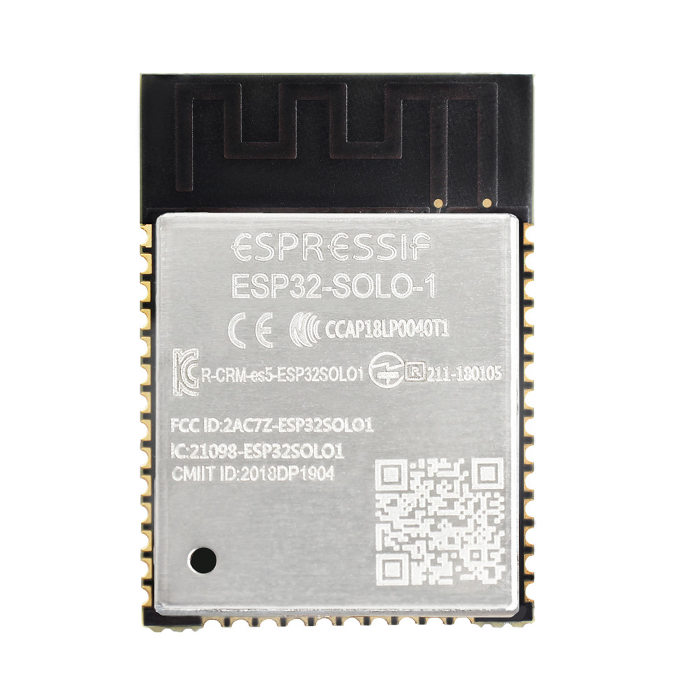 US $2 68 |ESP32 SOLO 1 single core Wi Fi & BT/BLE module with ESP32 S0WD Wi  Fi+BT+BLE MCU module-in Replacement Parts & Accessories from Consumer