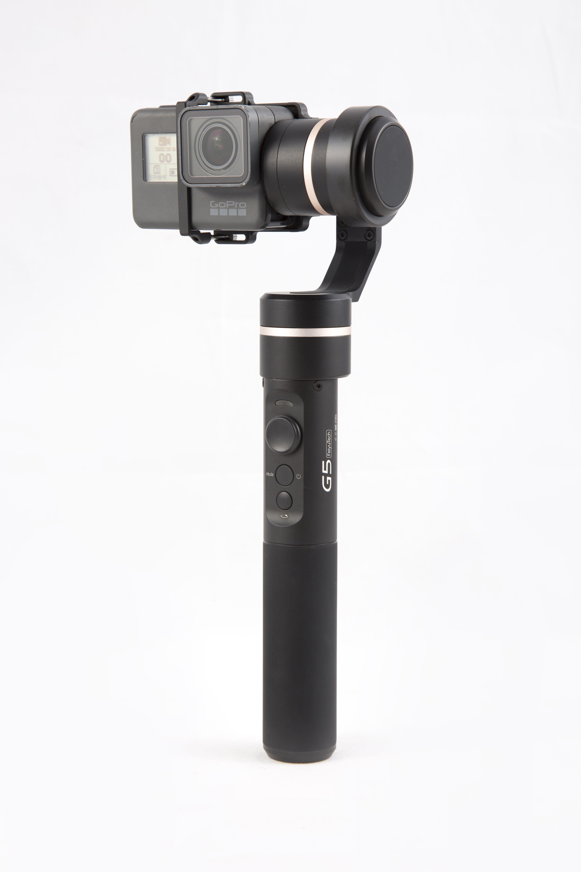 Feiyu G5 Handheld Gimbal for GoPro HERO 5 4 Xiaomi yi 4k SJ AEE Action Cam Splashproof Bluetooth-enabled control F19611 feiyu g5 3 axis handheld gimbal for gopro hero5 5 4 xiaomi yi 4k sj aee action cams splashproof bluetooth enabled control