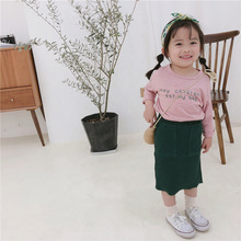 Celveroso Fashion 2019 Cute cotton Child Skirt Kids Pleated Skirt