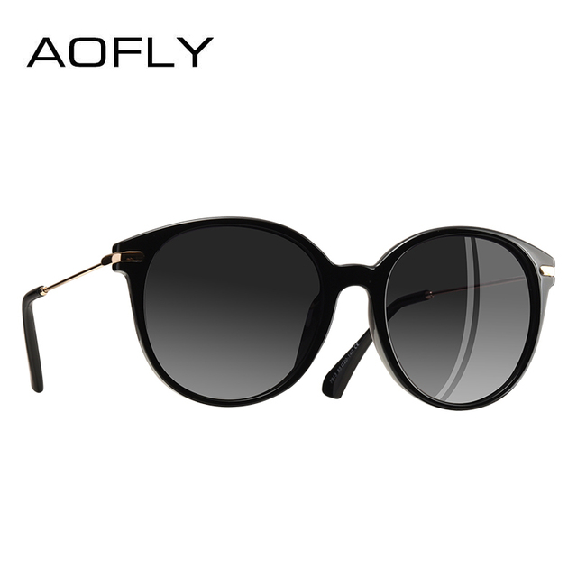 8218389dc5 AOFLY Fashion Lady Sun glasses New Polarized Women Sunglasses Vintage Alloy  Frame Classic Brand Designer Shades Oculos AF7913