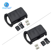 OkeyTech для Vauxhall Opel Corsa Agila Meriva Combo 2 кнопки дистанционного ключа автомобиля оболочки чехол Fob& 2 микро переключатель держатель батареи