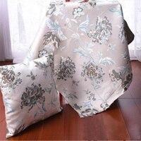 Jacquard thickening sofa fabric cushion pillow cushion set of table cloth chair cloth cover fabrics 1.45M width *1M length R167