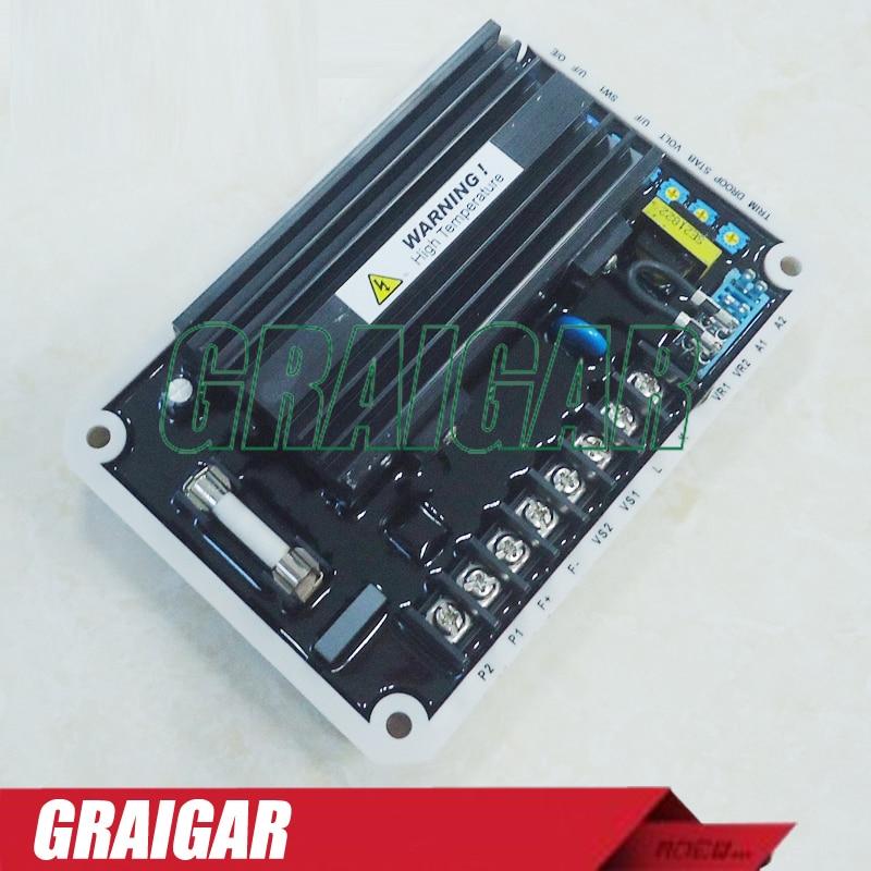 New EA16 AVR Generator Automatic Voltage Regulator use in 220 / 380 / 440 / 480 VAC brushless generators