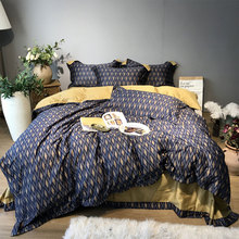 Современный геометрический постельное белье для взрослых подростков человек, Полный queen king хлопок дизайн двойной домашний текстиль простыня наволочк
