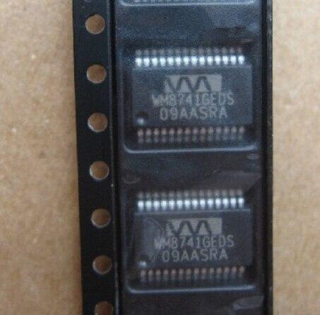 Бесплатная доставка 10 шт./лот WM8741GEDS/RV WM8741GEDS WM8741 ЦАП 24BIT STER 192 КГЦ 28 SSOP Лучшее качество