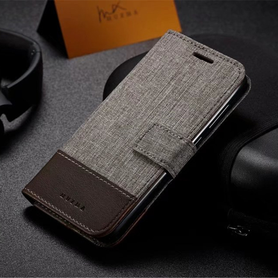 Luxury Denim Leather Pouch For RedMi 4X Note 4 4A 5A For