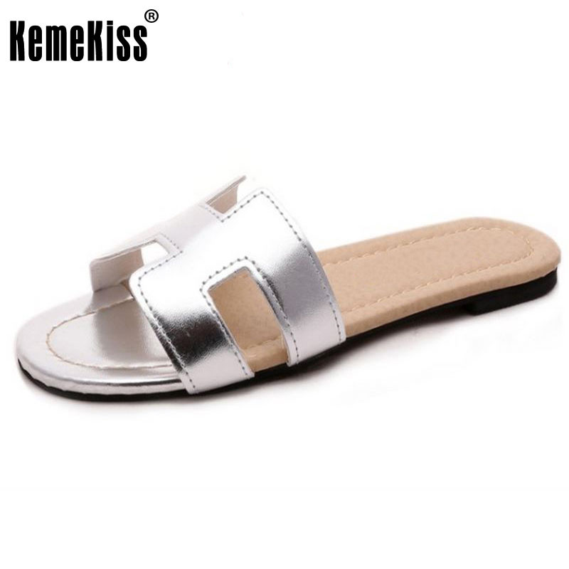 Lady Flat Sandals Brand Quality Female Shoes Women Gladiator Sandals Slippers Shoes Flip Flops Ladies Footwear Size 35-40 W0142 covoyyar 2018 fringe women sandals vintage tassel lady flip flops summer back zip flat women shoes plus size 40 wss765