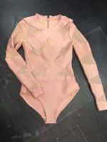 4 New Colors Ladies Long Sleeve Sexy Bodycon Bodysuits Sexy See Through Mesh Sexy Bodysuits