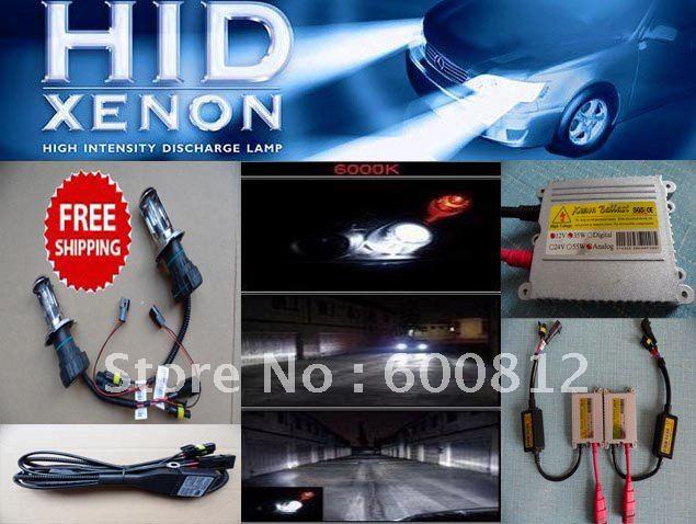 Automobiles Motorcycles XENON HID Conversion Kit  35W H4-3 6000K Bi-Xenon (Hi/Lo